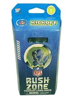 NFL Rush Zone Trading Card Game Starter Box