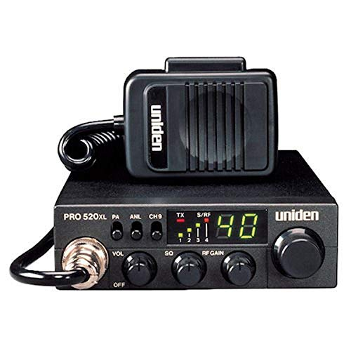Uniden PRO520XL Pro Series 40-Channel CB Radio. Compact Design. ANL Switch and PA/CB Switch. 7 Watts of Audio Output and Instant Emergency Channel 9. - Black. Buy it now for 72.95