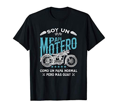 Hombre Divertido Soy Un Papá Motero Pero Más Guay Camiseta
