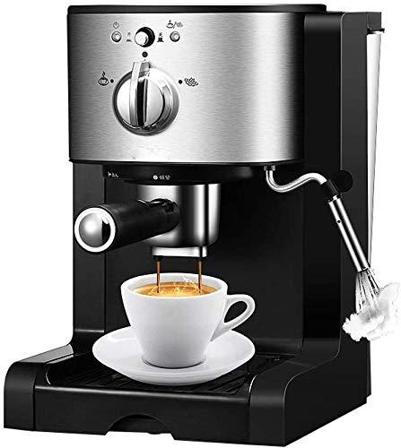 Jsmhh Máquina de cápsulas de café Espresso de Hogares de la máquina de Vapor comerciales Semiautomático Espuma de Leche 3en1 Cafe Fabricante de 1.5L y 20 Bares