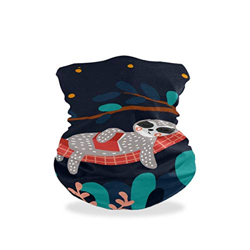 Asiga Cache-cou pour femme Motif marguerite Taille unique Multicolore 7