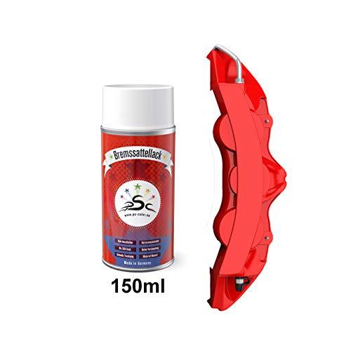 Penta Star Color Bremssattel-Lack-Farben-Sprays 150ml - Racing Rot Schwarz Gelb Blau Grün Tuning-Styling nach-um-färben von Bremmssattel Bremsklauen Metallfelgen Motor-Metall-teilen (Racing Rot)