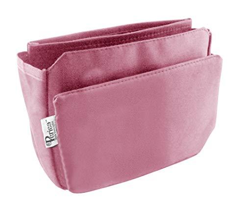 Periea Organizzatore da borsetta , Insert, Liner 9 tasche 20x16x7cm - Tegan Rosa