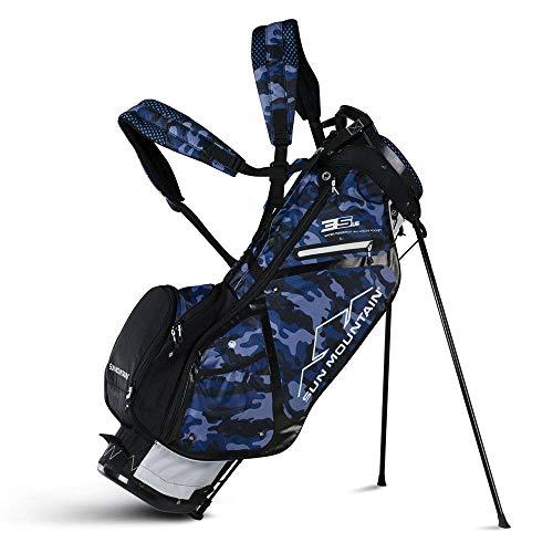 Sun Mountain Golf 2018 3.5 LS Stand Bag WHT-MIDNITE-CAMO (White/Mid...