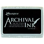 Ranger AIP-31468 Archival Inkpad, Jet Black