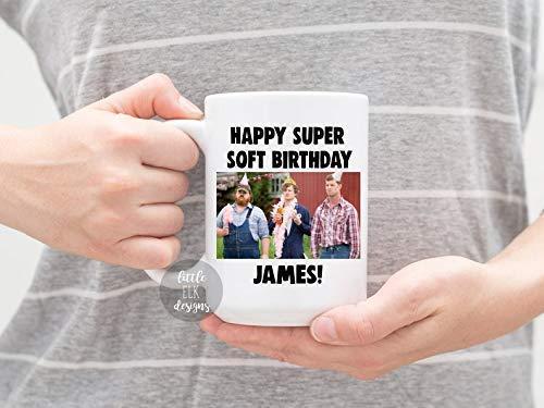 Have A Super Soft Birthday Custom Popular brand in New Free Shipping the world Ceramic Coffee Name Larg Mug -