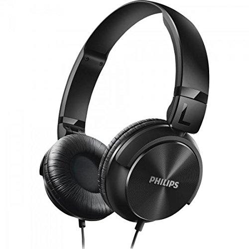 Philips SHL3060BK/00 Kopfhörer (32 mm Neodym-Treiber, DJ-Monitoring) schwarz
