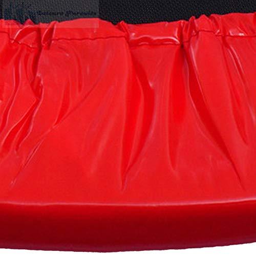 xsports Mini Trampoline 4 ft Skirt ONLY for Rebounder Jumper Fitness Trampoline - Red