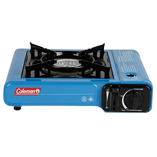 Coleman Portable Butane Stove with Carrying Case 3