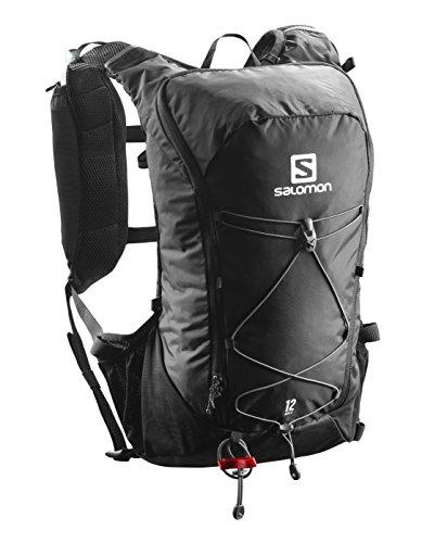 Salomon Agile12 Set, Zaino da Corsa/Escursionismo Pratico e Leggero, capacità di 12 l, Sacca...