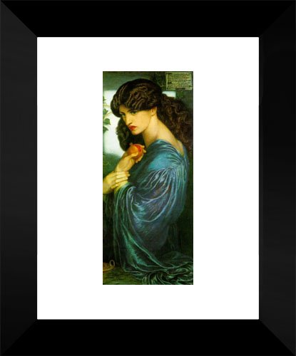Proserpine 15x18 Framed Art Print by Rossetti, Dante Gabriel