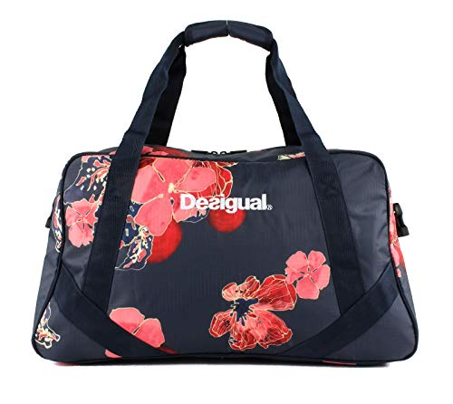 Desigual Scarlet Bloom Carry Shoulder Bag Peacoat