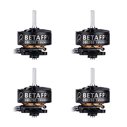 BETAFPV 4pcs 0802SE 19500KV Brushless Motors for FPV Racing Tiny Whoop 1S Brushless Drone Like Meteor65