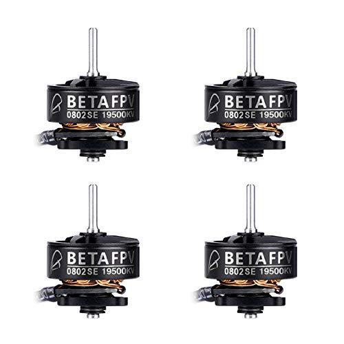 BETAFPV 4pcs 0802SE 19500KV Brushless Motors for FPV Racing Tiny Whoop 1S Brushless Drone Like Meteor65