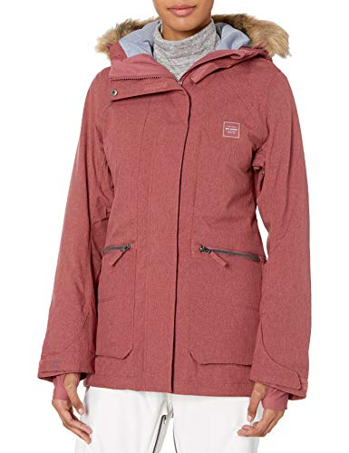 BILLABONG Damen Into The Forest Snowboard Jacket Isolierte Jacke, Vintage Pflaume, Large