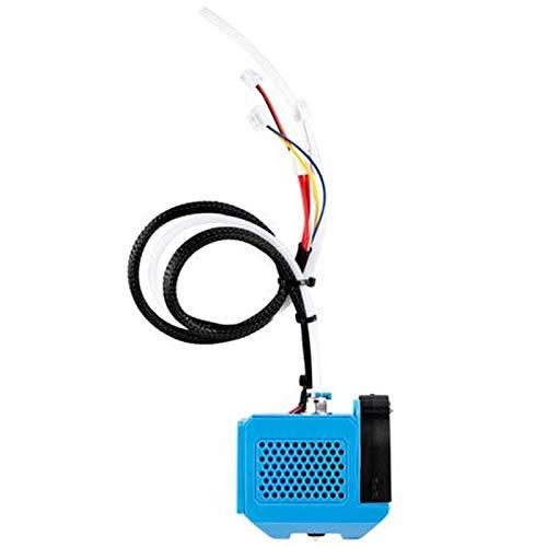 Professionale Completo Assemblato Estrusore Kit di Ricambio Estrusore Testa con Ventola Ugello Kit per Creality CR-10 V2 Stampante 3D