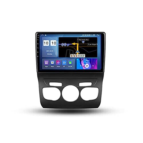 Android 10.0 Car Stereo Double DIN Radio para Citroen C4 2 B7 2013-2016 Navegación GPS Reproductor Multimedia de 10 '' Receptor de Video Bluetooth con 4G / 5G WiFi SWC DSP USB Carplay