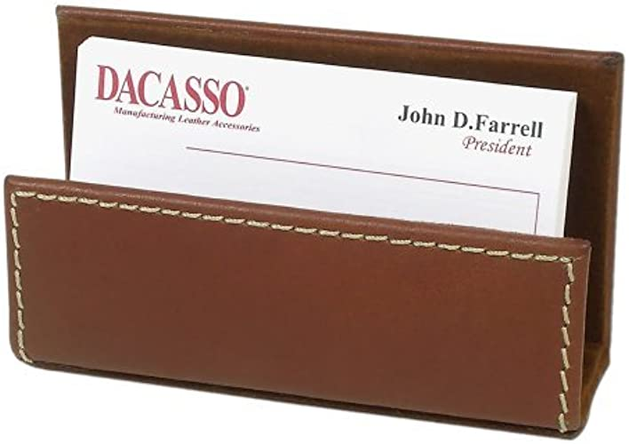 Rustic marron cuir Affaires voitured Holder by Dacasso