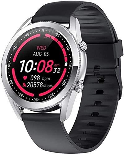 Reloj Inteligente Bluetooth Llamada Frecuencia Cardíaca Monitoreo de Presión Arterial Hombres G33 Fitness Pulsera Hombres Relojes para Android IOS-C