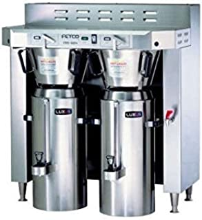 Fetco Double 3.0 Gallon Thermal Coffee Brewer Cbs-62H-C62166
