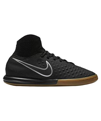 Nike Jungen Jr Magistax Proximo II IC Fußballschuhe, Black (Schwarz/Schwarz-Gum Light Brown), 36 EU