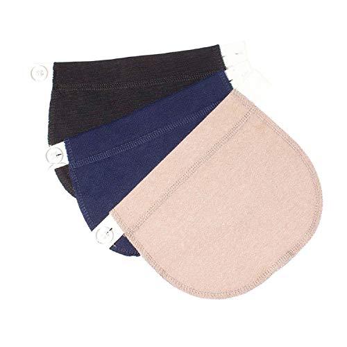 kangyh Pregnant Women Belt Cotton Maternity Pants Buckle Extension Adjustable Comfort Girth
