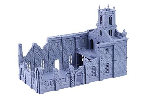 Ruined Carribean Church Terrain