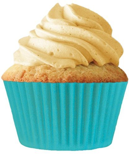 Light Turquoise Cupcake Baking Cup Liners 32 Count by Cupcake Creations
