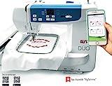 Máquina de bordar ALFA DUO con wifi