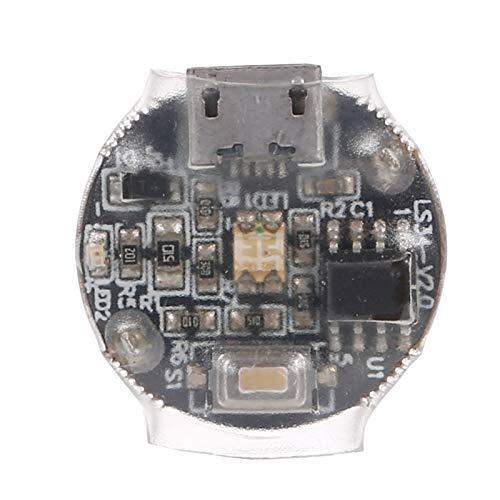 GoolRC Mini Luces de Flash LED Lámpara de Señal Luz de Navegación Recargable para Drone RC Car Compatible con dji Mavic Drone Traxxas RC Car