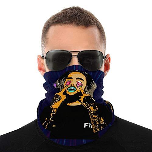 Unisex Bufanda Facial,Diseño Literario Retro Original De Suicide Boys Polainas De Cuello Sin Costura Cuello Pañuelo Durable Calentador De Cuello para Senderismo Ciclismo Motocicleta