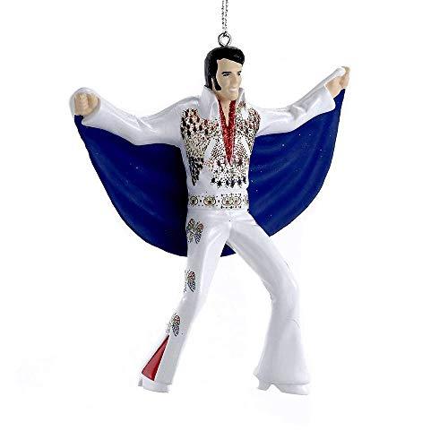 Blow Mold Elvis Eagle Cape Jumpsuit Ornament