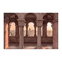 ZNLEY.O 素晴らしいモロッコ建築砂漠の旅行フローラルポスターの写真壁のアートプリント寝室の家の装飾のためのキャンバス絵画 (Color : PICTURE 4, Size : 50x70 cm no frame)