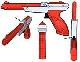ZAPPER GUN FOR NINTENDO NES ZAPPER (ORANGE AND GREY VERSION) (ZAPPER GUN FOR NINTENDO NES ZAPPER (ORANGE AND GREY VERSION), ZAPPER GUN FOR NINTENDO NES ZAPPER (ORANGE AND GREY VERSION))