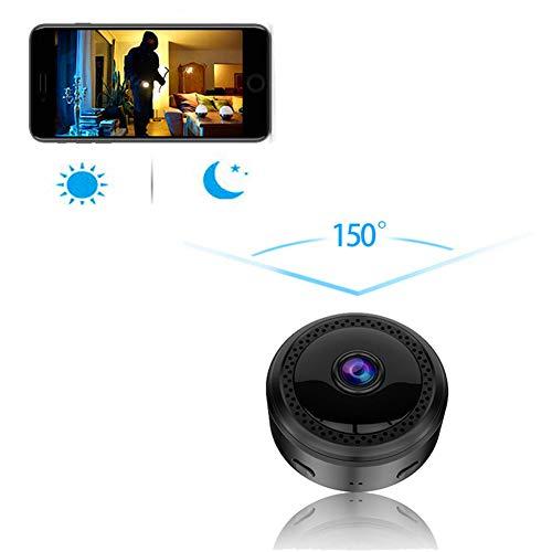 Hidden Camera – 1080P Mini Spy Camera AS Seen on TV – Spy Camera inalámbrica Hidden – Nanny Cams Wireless with Cell Phone APP – Nanny Cam – Cloud Cam – Cop Cam – Hidden Camera Detectors – Copcam