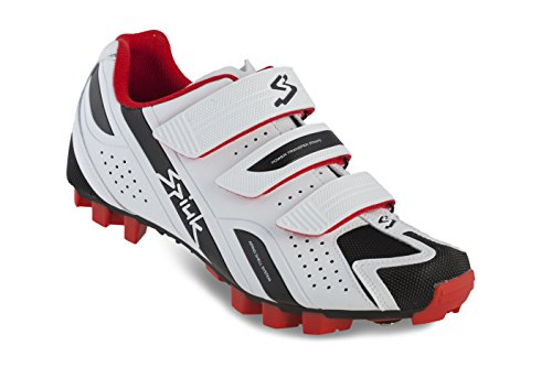 Spiuk Rocca MTB - Zapatillas unisex, color blanco / negro, talla 49