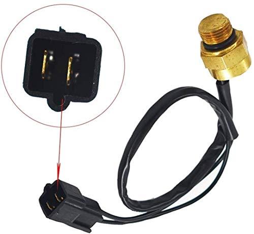 HKRSTSXJ Ventilador del radiador Interruptor térmico del Sensor en Forma for el Polaris Sportsman Xplorer Scrambler 4010161 refrigeración Interruptor térmico del radiador
