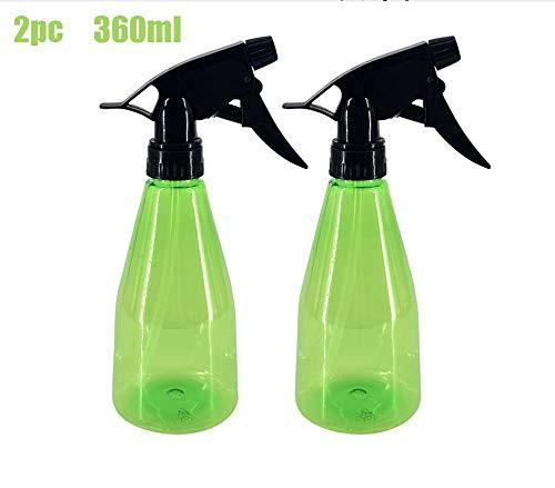 Pulvériser bouteille, pulvérisateur de 500 ml en matière plastique, 3 modes (par pulvérisation et de la rosée et fermer) la bouteille rechargeable de pulvérisation pour le nettoyage vide,2 packs