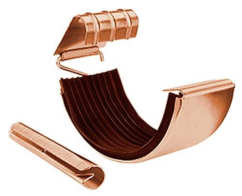 Rinnenverbinder Kupfer für Dachrinnen in den Größen 250, 285 und 333 -er (333-er)