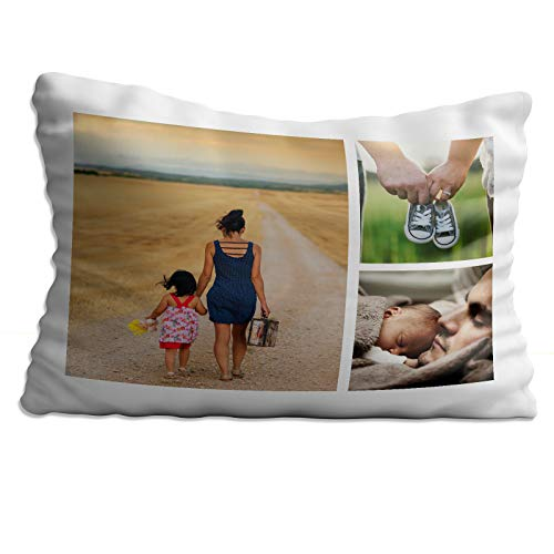 Personalised Photo Pillow Cushion Cover Sofa Home Décor Custom Gift