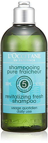 L'Occitane Revitalizing Fresh Shampoo unisex, Haarpflege, 1er Pack (1 x 300 ml)