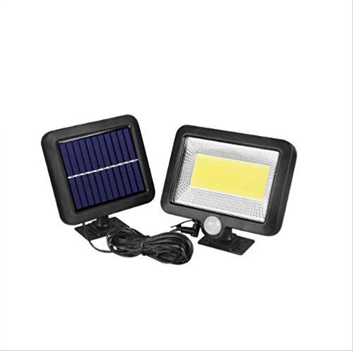 Ledlampen op zonne-energie gevoelige wandlampen, aparte binnen- en binnenlampen en garagelampen.