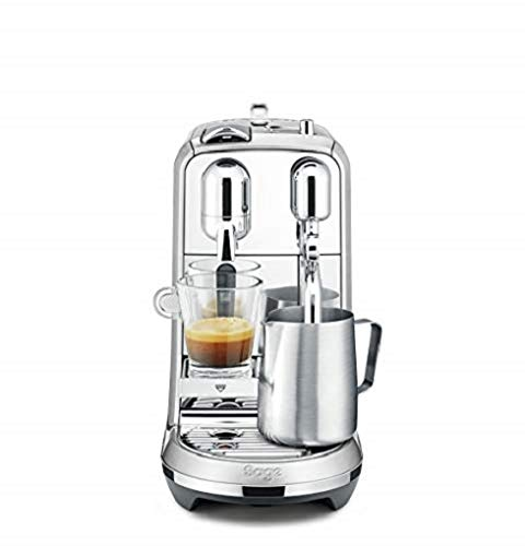 Nespresso BNE800 Creatista Sage, Brushed, 1600 W, 1.5 liters, Stainless Steel (Plus)