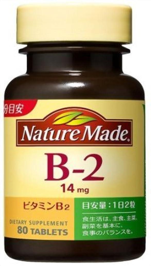 添加温かいリラックスした大塚製薬 ネイチャーメイドビタミンB2 80粒×2 907