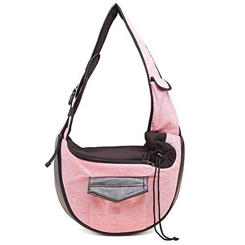 Vlook Travel Puppy Carrying Bag, wasserdichte Transporttasche, mit Handytasche, bequem und atmungsaktiv, für kleine und mittlere Hunde Katze