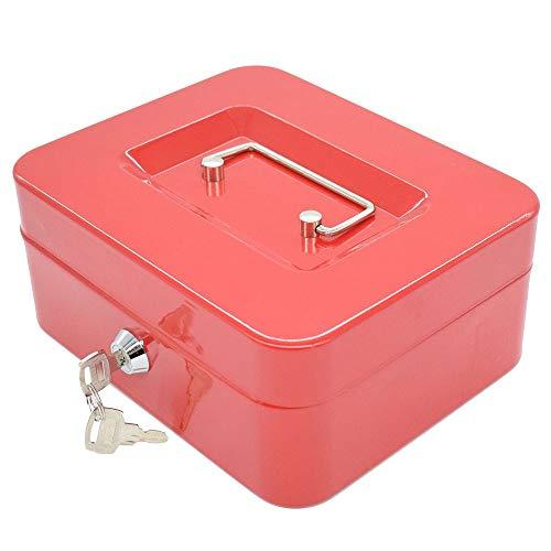 Chyuanhua Cash Box toetsenblokkering metalen kas mini safe kassa wijzigen veiligheid lock-box metalen spaarpot