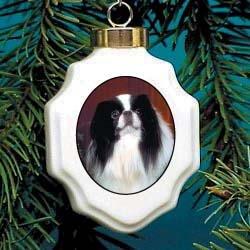Christmas Ornament: Japanese Chin