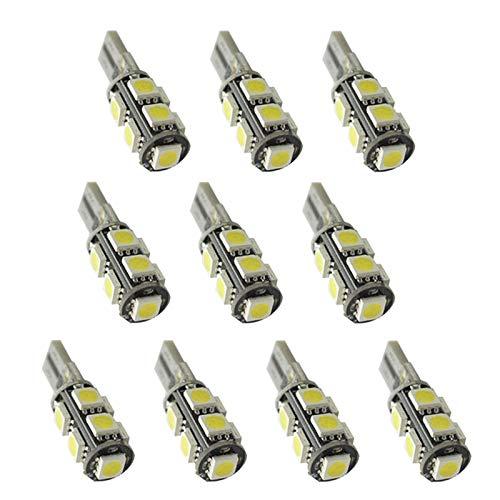 IPOTCH 10x Bombilla de Luz de Coche Luz Indicadora de Señal de Giro Bombilla de Luz LED de Repuesto para Coche