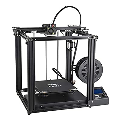 Creality Ender 5 3D Printer with Resume Printing Function Brand Power Supply and Update with Metal Extruder Frame