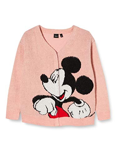 Desigual Girls JERS_HERÁCLITO Pullover Sweater, Red, 11/12